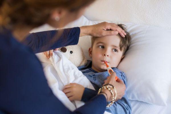 آنفلوانزا در کودکان و درمان آن