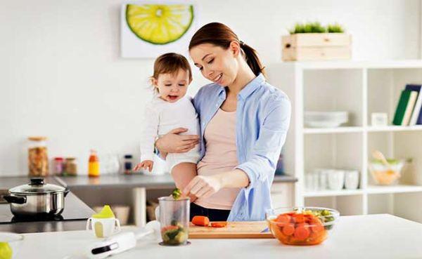 نفخ نوزاد در دوران شیردهی