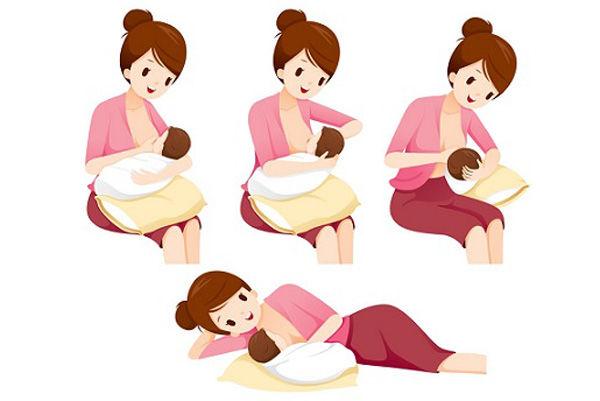 اصول و روش صحیح شیر دادن به نوزاد