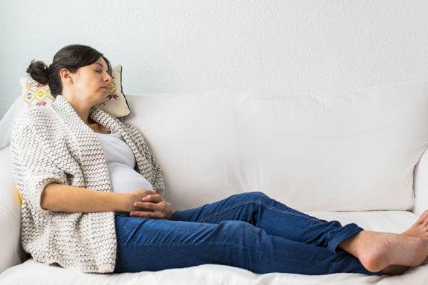 احساس خستگی شدید در بارداری