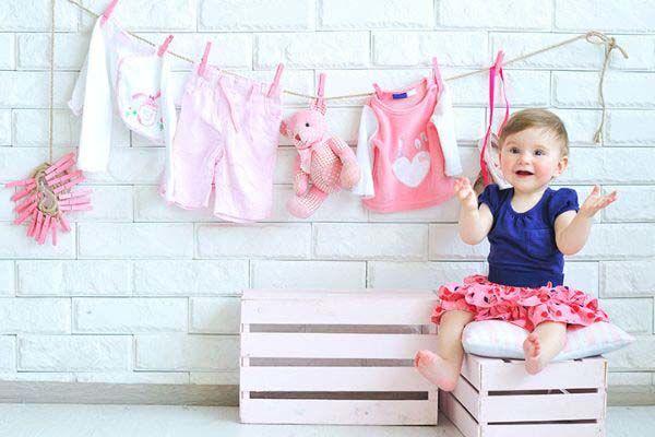 شستن لباسهای نوزاد قبل از استفاده