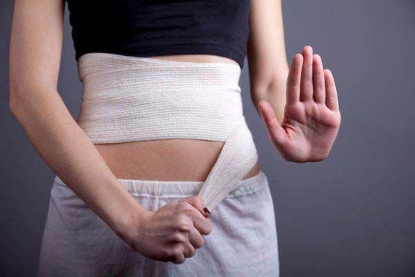 چه وقت بعد از سزارین از شکم بند استفاده کنیم؟