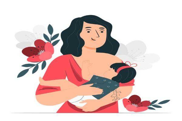 مزایای شیردهی به نوزاد برای مادران