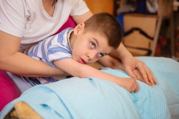 فلج مغزی در کودکان