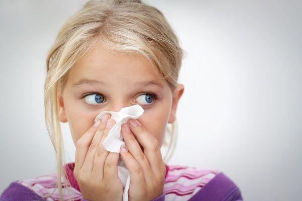 درمان گرفتگی بینی در کودکان
