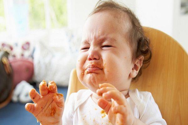 آلرژی غذایی در کودکان شیرخوار