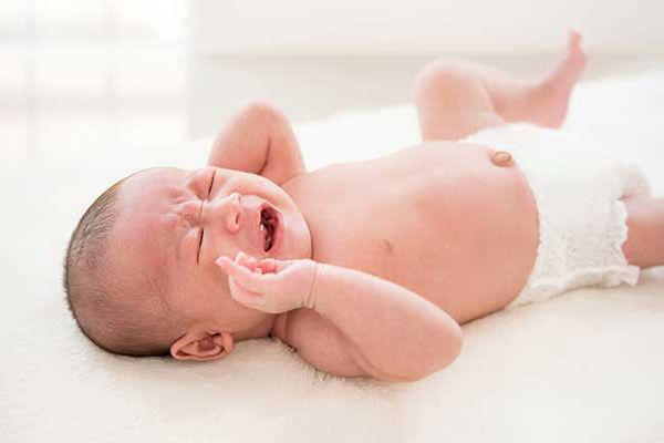 گریه شدید نوزاد
