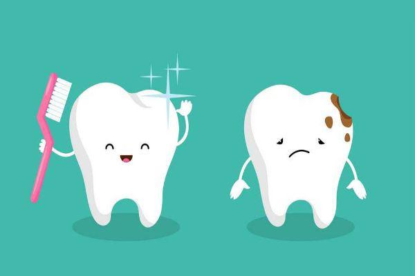 جدول زمان بندی دندان کودک