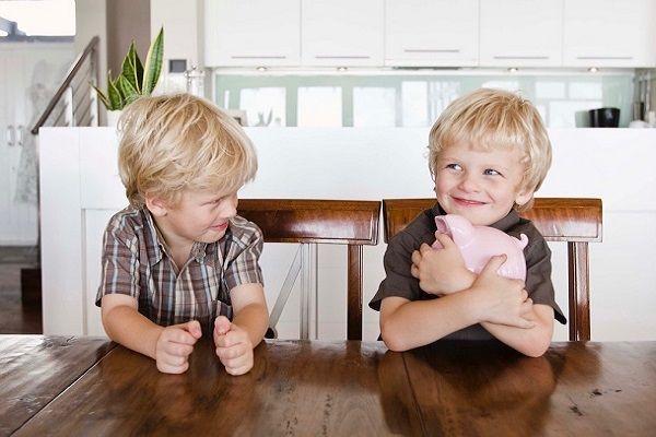 رفتار خودخواهانه کودکان