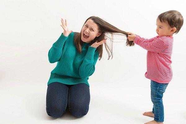 رفتار کودک پرخاشگر