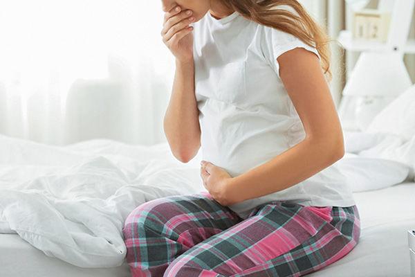 شروع حالت تهوع در بارداری