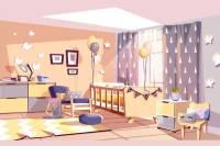 شرایط ایمنی مناسب برای اتاق نوزاد