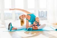 تقویت عضلات شکم پس از زایمان