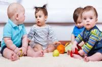 جدول زمانی نشستن نوزاد
