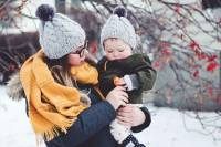 پوشش نوزاد در زمستان
